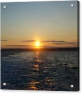 Sunset On The Horizon  2 Acrylic Print