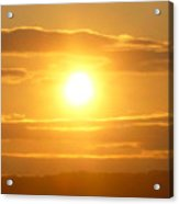 Sunset On The Horizon  3 Acrylic Print