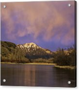 Sunset On The Snake River Acrylic Print