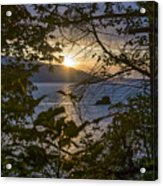 Sunset On The Sound2 Acrylic Print