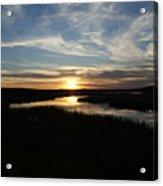 Sunset On The Totagatic Acrylic Print