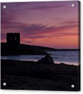 Sunset On Uist Acrylic Print