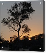 Sunset - Out In The Country Acrylic Print