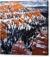 Sunset Over A Hoodoo Nation IIi Acrylic Print