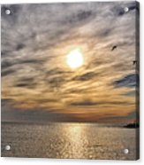 Sunset Over Bay Acrylic Print