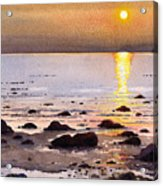 Sunset Over Cara Acrylic Print