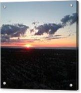 Sunset Over Cleveland Acrylic Print