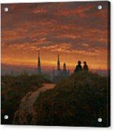 Sunset Over Dresden Acrylic Print