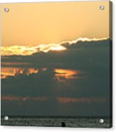 Sunset Over Egg Harbor Wi Acrylic Print