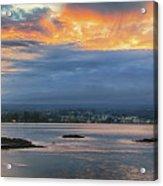 Sunset Over Hilo Acrylic Print