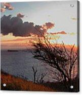 Sunset Over Lanai 2 Acrylic Print