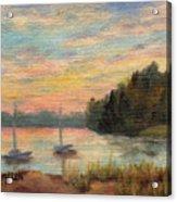 Sunset Over Massabessic Acrylic Print