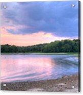 Sunset Over Monk's Park Acrylic Print