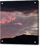 Sunset Over Mount Sanitas Acrylic Print