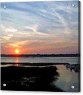Sunset Over Murrells Inlet II Acrylic Print