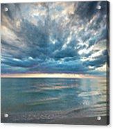 Sunset Over Naples Beach Acrylic Print