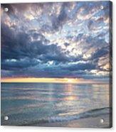 Sunset Over Naples Beach II Acrylic Print