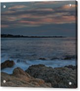 Sunset Over Point Joe Acrylic Print