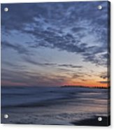 Sunset Over Rye New Hampshire Coastline Acrylic Print