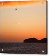 Sunset Over Sea Of Cortez Acrylic Print