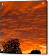 Sunset Over Simi Acrylic Print