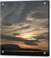 Sunset Over Sligo Bay Acrylic Print