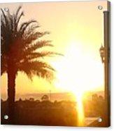 Sunset Over St Augustine Florida Acrylic Print