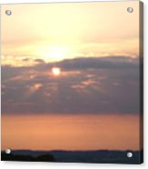 Sunset Over Sussex Acrylic Print