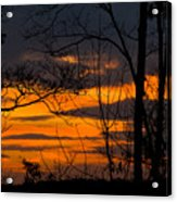 sunset over Suwanee 2010 Acrylic Print