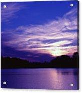 Sunset Over The Intercoastal Acrylic Print