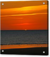 Sunset Over The Vendee Acrylic Print