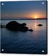 Sunset Over Wilson Lake Acrylic Print