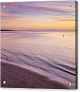 Sunset Paddle Acrylic Print