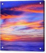 Sunset Palette Acrylic Print