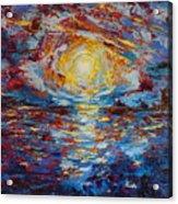 Sunset Pandora Acrylic Print