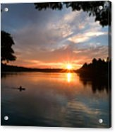 Sunset Panther Lake Acrylic Print