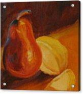 Sunset Pears Acrylic Print