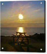 Sunset Picnic Acrylic Print