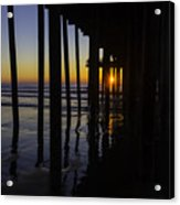Sunset Pismo Beach Acrylic Print