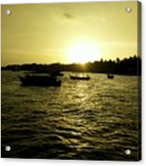 Sunset Point Acrylic Print