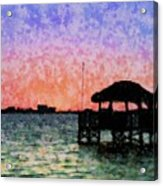 Sunset Prism Acrylic Print