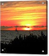 Sunset Punta Gorda Fl Acrylic Print