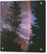 Sunset Rainbow Acrylic Print