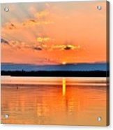 Sunset Reflections 2 Acrylic Print