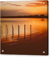 Sunset Reflections Acrylic Print