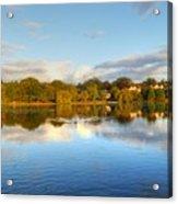 Sunset Reflections On The Lake Acrylic Print