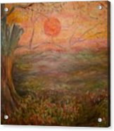 Sunset Rev. Acrylic Print