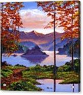 Sunset Reverie Acrylic Print