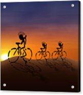Sunset Riders Acrylic Print