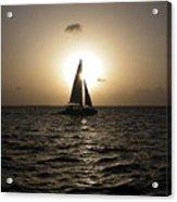 Sunset Sail - Key West Acrylic Print